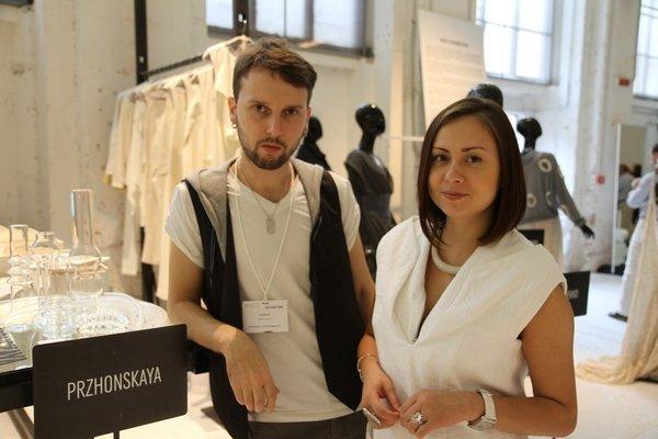 украинский дизайнер Елена Пржонская на выставке White