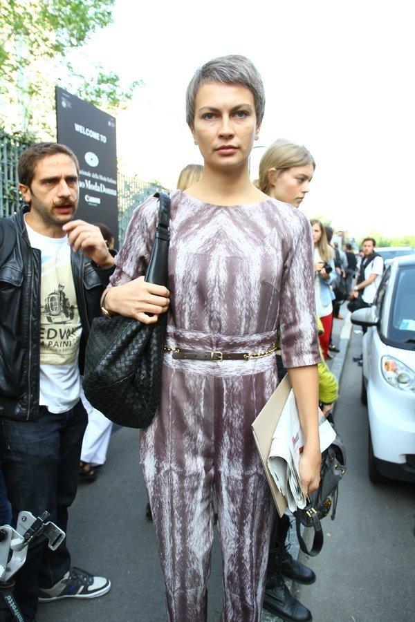 Главный редактор Vogue Украина Мария Цуканова