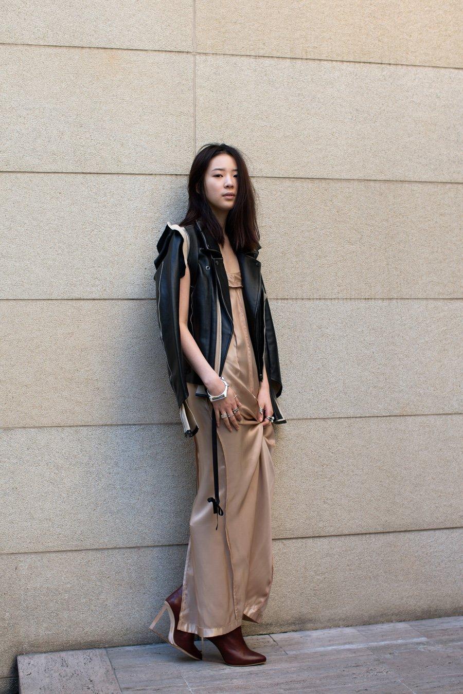 Платье, куртка Maison Martin Margiela for H&M