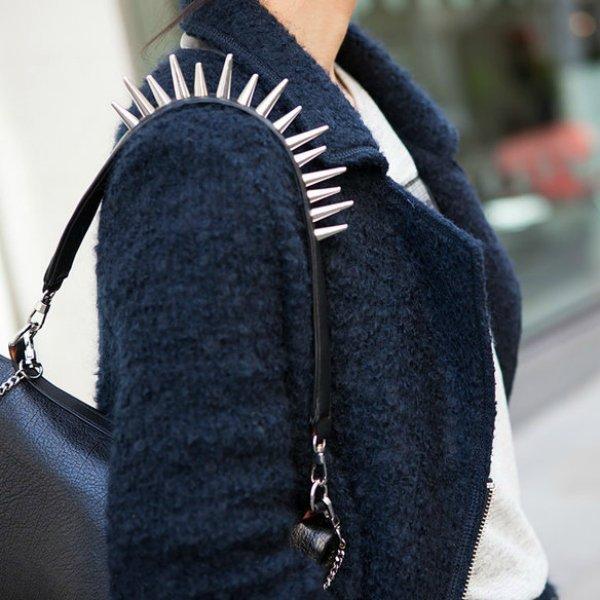 Пальто, сумка ZARA