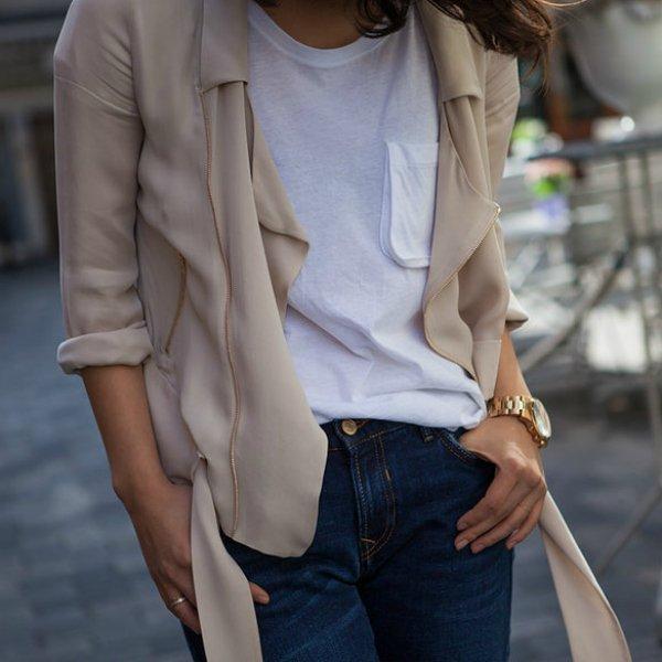 Топ, рубашка, джинсы ZARA
