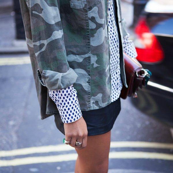 Куртка, блуза, юбка ZARA