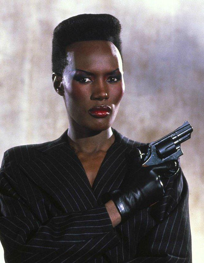 A View to Kill (Вид на убийство), 1985 — Грейс Джонс