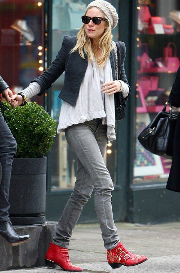Ботинки Chloe с шипами