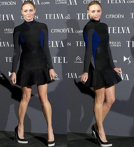 Стелла Маккартни в платье собственного дизайна