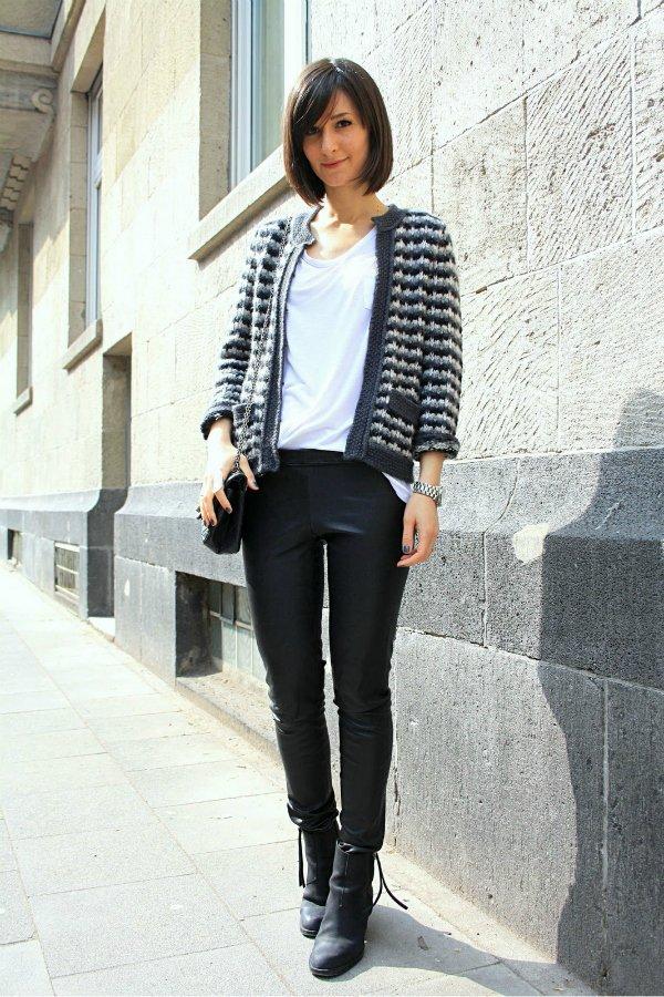 Жакет в стиле Chanel