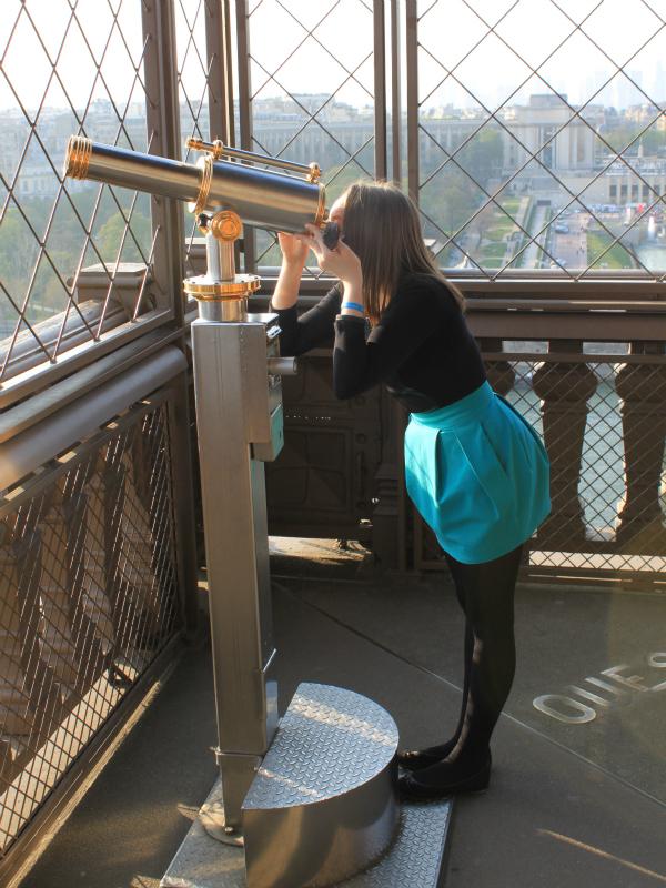Мартовский отпуск в Париже: внутри Эйфелевой башни