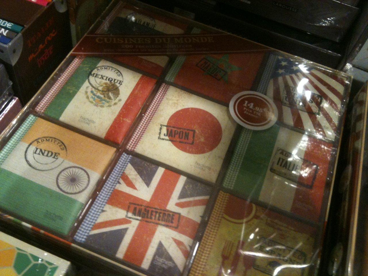 Набор блокнотов для рецептов кухни разных стран