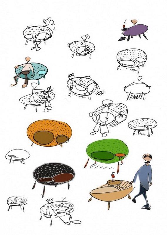 Итальянские дизайнеры Tacchini перепроектировали концепт от студии Claesson Koivisto Rune, созданный в 1995 году. Обновленный вариант кресла  Isola Chair теперь выполнен в коже.