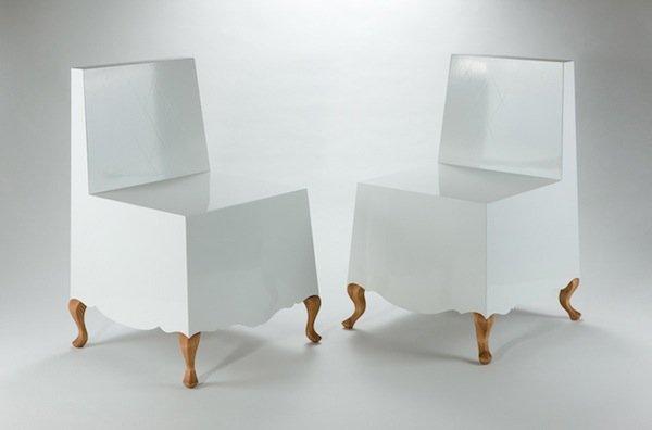 """Кресло из коллекции """"Costume Collection"""" от дизайн студии Jongho Park."""
