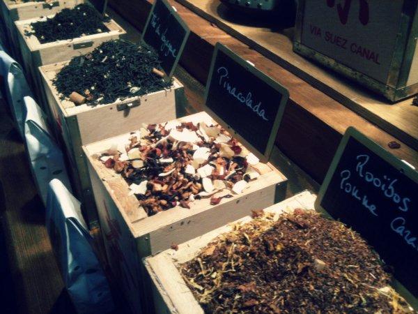 Китайский чай с разными вкусами