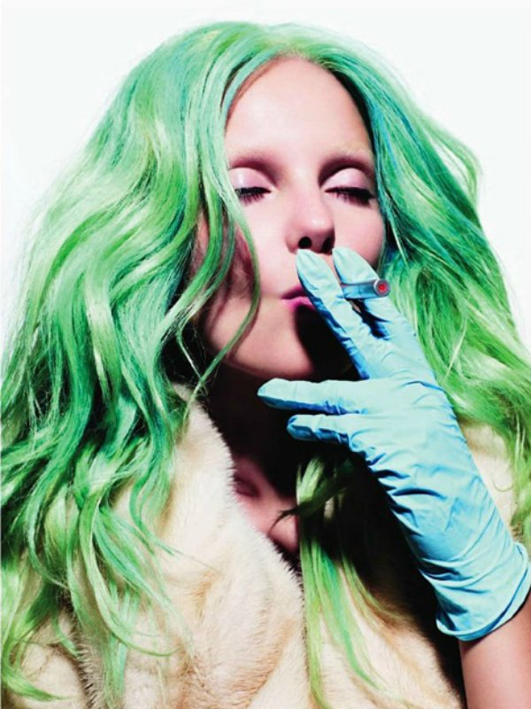 Тренд – цветные волосы