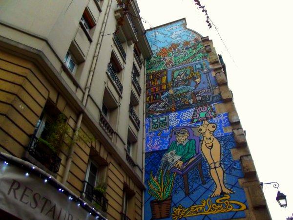 В окрестностях арт-центра Pompidou