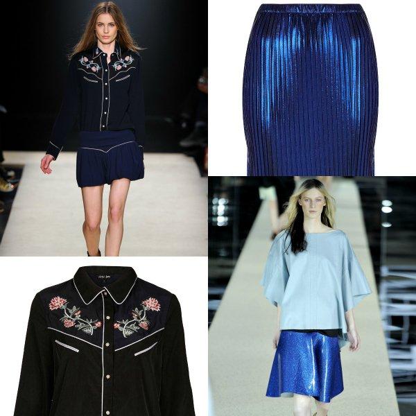 Модные подмены: юбка и пальто Acne, брюки Stella Mccartney, топ Louise Vuitton