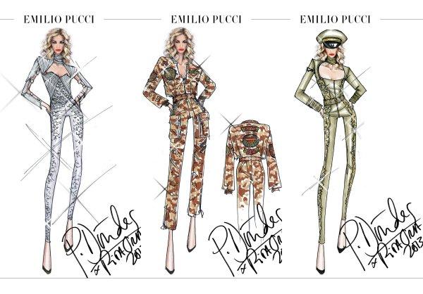Креативный директор Emilio Pucci создаст наряды для британской исполнительницы Риты Ора