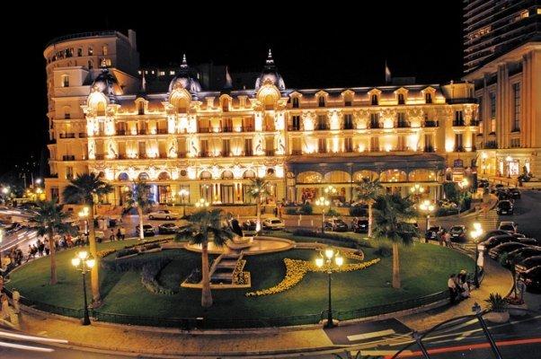 Hotel de Paris в Монако
