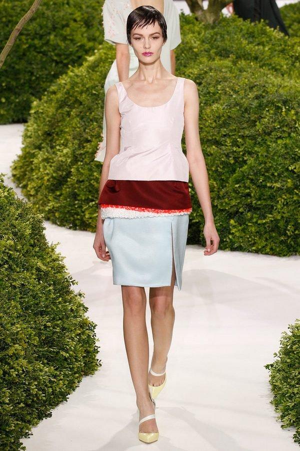 Показ коллекции Christian Dior весна-лето 2013 в рамках Couture Fashion Week