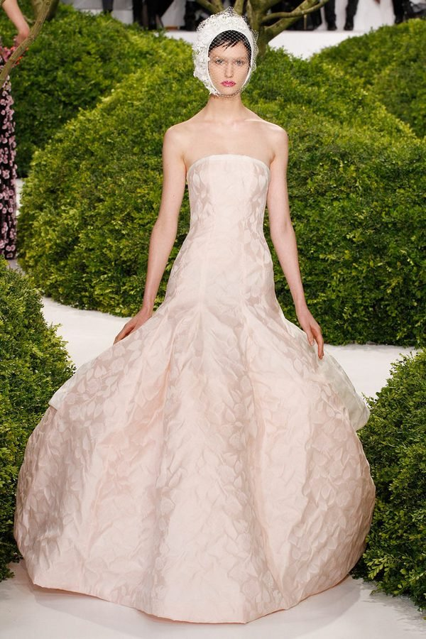 Показ коллекции Christian Dior весна-лето 2013 в рамках Couture Fashion Week