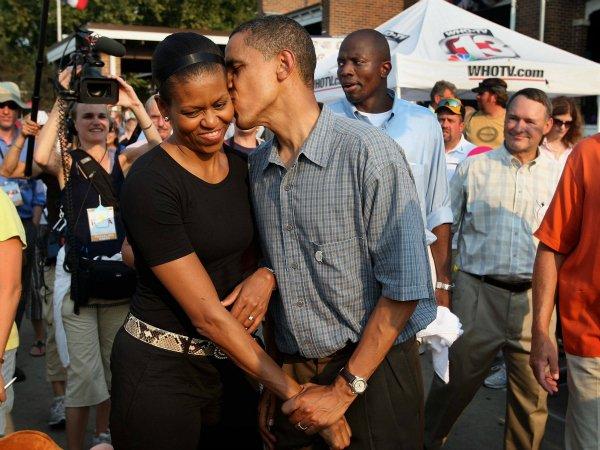 Барак и Мишель Обама (18)