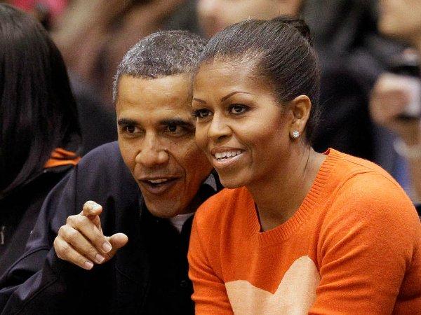 Барак и Мишель Обама (19)
