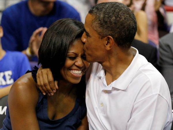Барак и Мишель Обама (20)