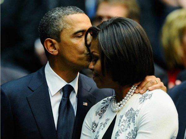 Барак и Мишель Обама (21)