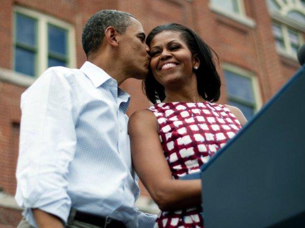 Барак и Мишель Обама (22)