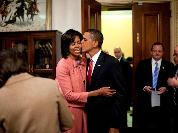 Барак и Мишель Обама (3)
