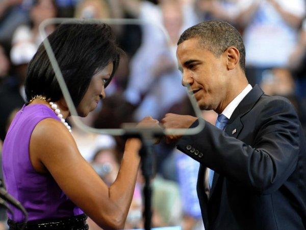 Барак и Мишель Обама (4)