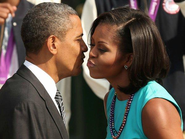 Барак и Мишель Обама (7)