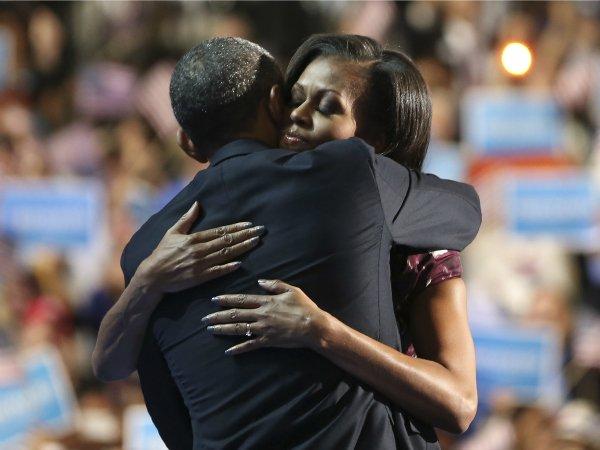 Барак и Мишель Обама1