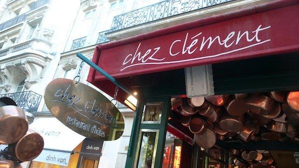 ресторан Chez Clément