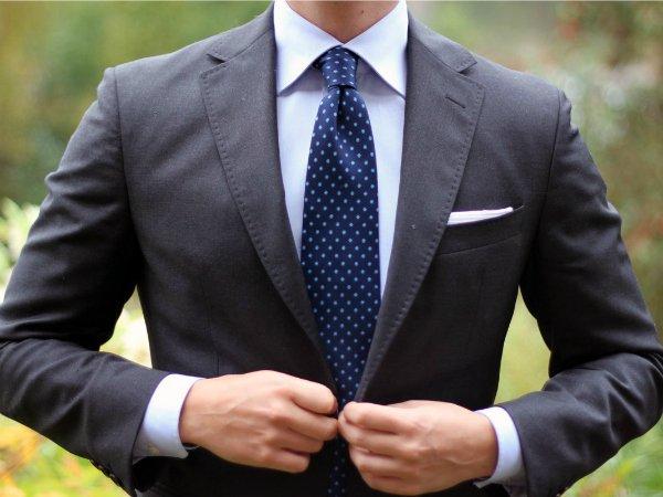 Галстук и нагрудный платок