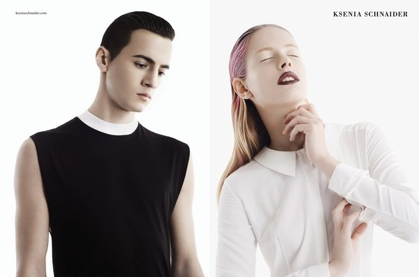Рекламная кампания Ksenia Schnaider весна-лето 2013
