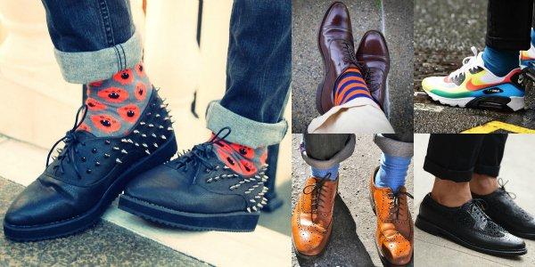 Как сочетать правильные носки с правильной обувью