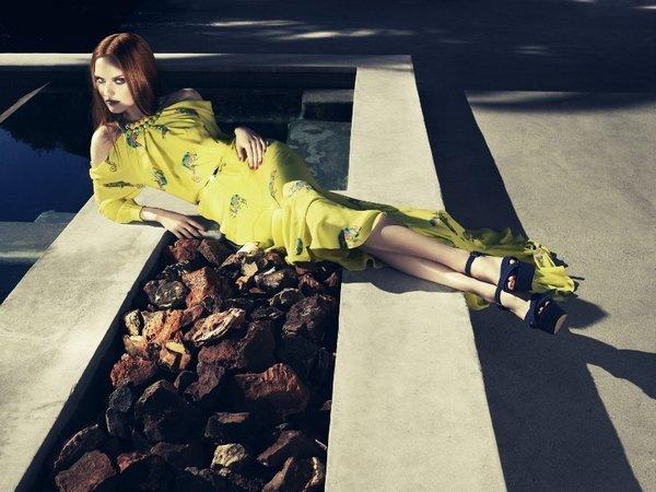 Рекламная кампания Kira Plastinina весна-лето 2013: однажды летом