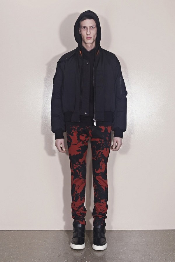 Показ коллекции McQ Alexander McQueen осень-зима 2013