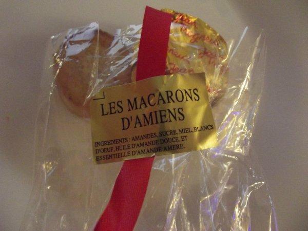 Миндальные макаруны из Amiens