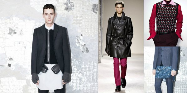 Неделя мужской моды в Париже осень-зима 2013-2014