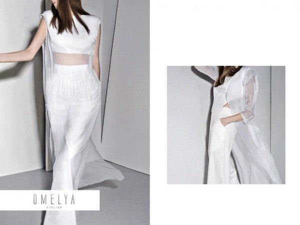Рекламная кампания Omelia atelier весна-лето 2013