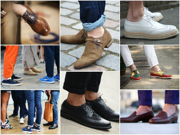 Обувь на босу ногу