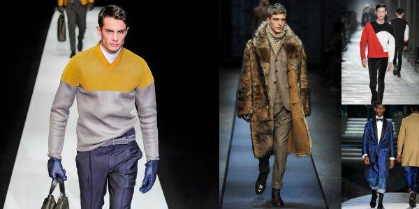 Тренды с подиума мужской недели моды в Милане осень-зима 2013-2014