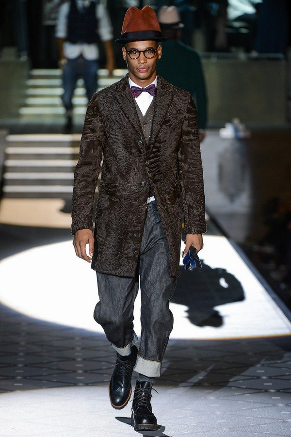 Показ коллекции Dsquared² в рамках Недели Мужской Моды в Милане