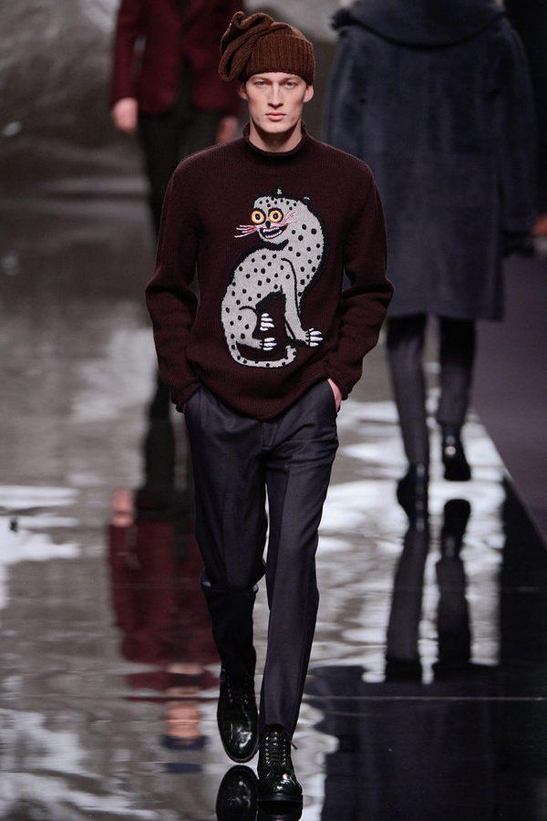 Показ коллекции Louis Vuitton осень-зима 2013