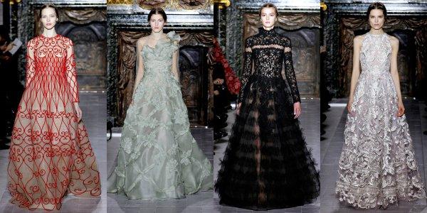 Показ коллекции Valentino весна-лето 2013 в рамках Couture Fashion Week