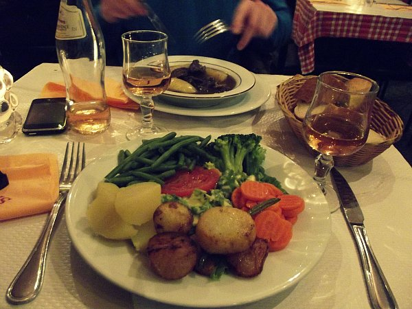 Вегетарианская тарелка