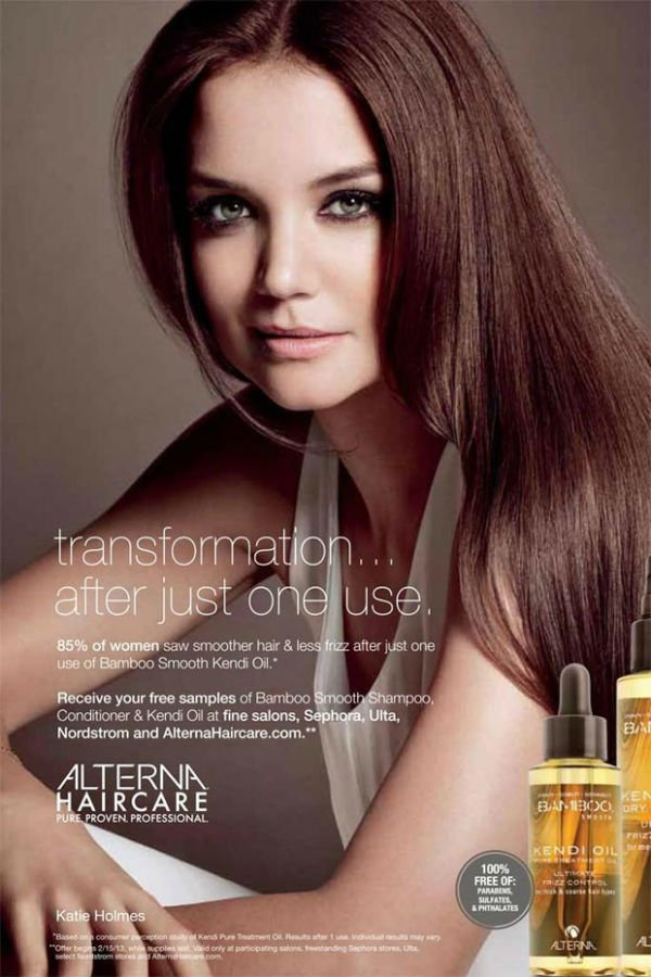 katie-holmes-alterna-haircare-spring-2013-ad-campaign