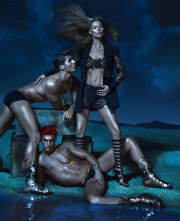 Коллекция Versace весна-лето 2013