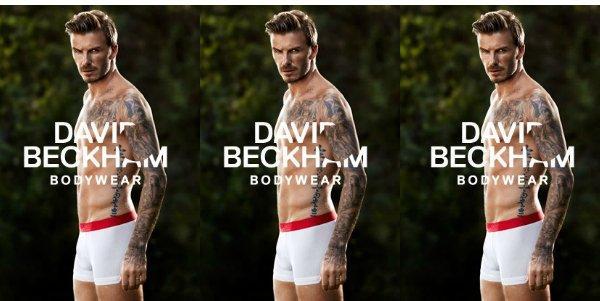 Девид Бекхем в рекламе мужского нижнего белья H&M весна 2013
