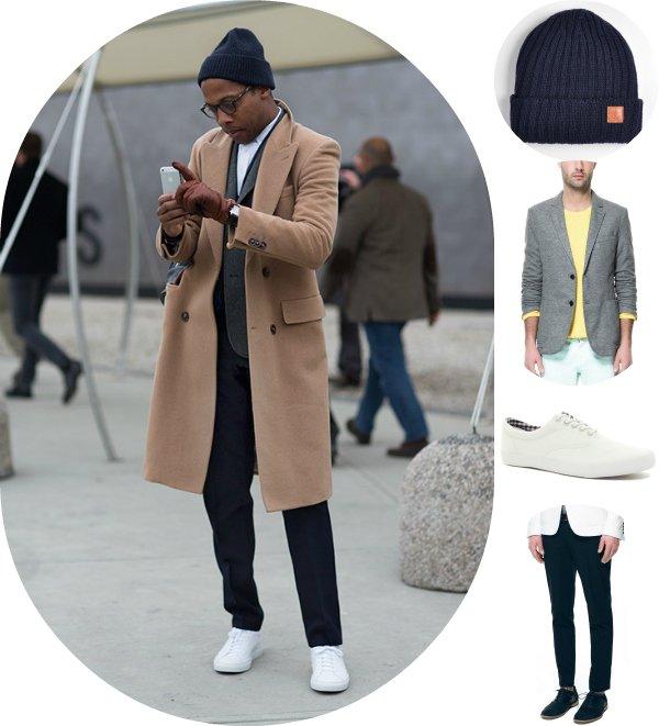 Как это носить: 5 стильных образов со бежевым пальто